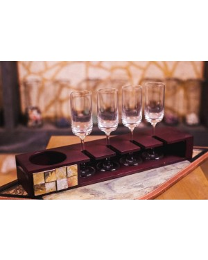 Champagne Tray With Glasses