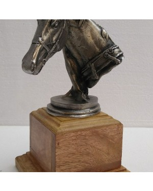 Rustic Iron Hammered Resting  HorseFigurine, Rust Rought Iron  6 x 12.5 x 13.75 Inches