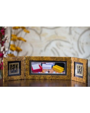 Photo Frame Two Folds Antique