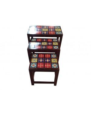 Arabian Set of three table.