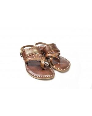 Handscart Luxury Handcrafted Women's Slipper with Original soft leather and Handblock Print Lining Designer footwear