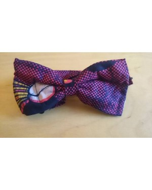PRE TIED BOW TIES  DARK RED MARVEL