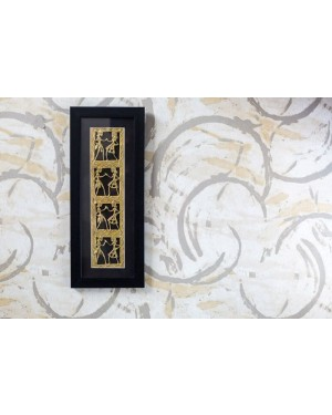 Dhokra Art Vertical Wall Hanging
