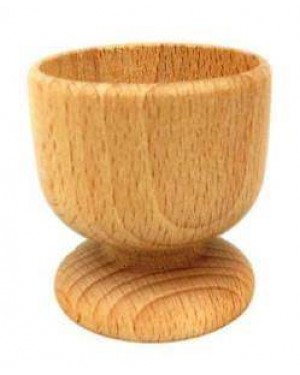 Ecofriendly Bamboo Classic Wooden handcrafted Ice Cream Cup Board/Serving Platter, with Bamboo and  crafted by natural woods.