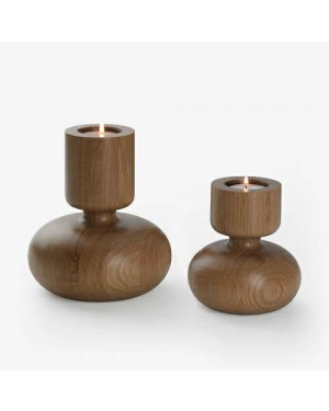 Ecofriendly Bamboo Classic Wooden handcrafted Candle stand with candle , with Bamboo and  crafted by natural woods.