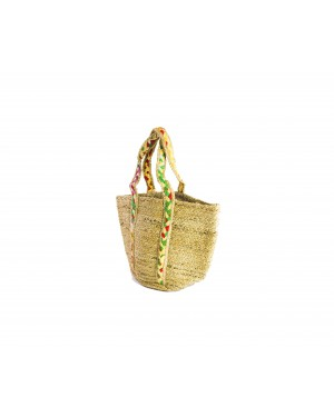 Handscart Handcrafted Boho Design Women's Tote Bags withEcofriendly jute for all purpose. (Grasso_Jute )