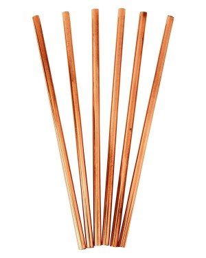 100% Eco friendly and bio Bamboo Straws set With Pouch, No To Plastic product