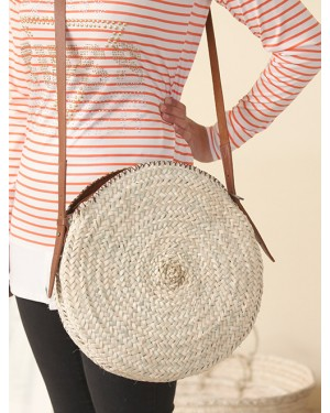 Sosal Crochet designer handcrafted beads Asmaa Bags for modern girls with leather strip