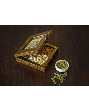 Square Dry Fruit Cum Multi Utility Box With Frame