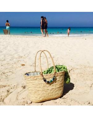 Sosal Crochet designer handcrafted beads beach bag