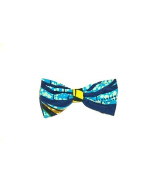 African Wax Print Bow Tie made from cotton  Kitenge Bow