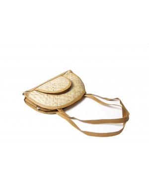 Handscart 100% Ecofriendly light weight Sugar and Banane cane bags indigenous crafts from artisans designed in milan bags
