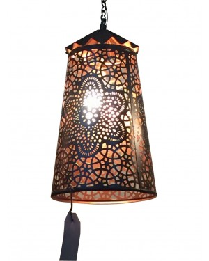 Handcrafted designed hand hammered lamp, Classic Architect made by Rough Iron by  150 years old hammered craftsmanship,  No welding, Purely sustainable way of Brass lamp.