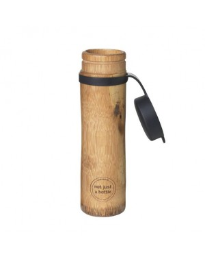 Speclly designed Handcrafted 100% bio and eco friendly bamboo bottle with non silicon lid crafted by vietnamese artisans